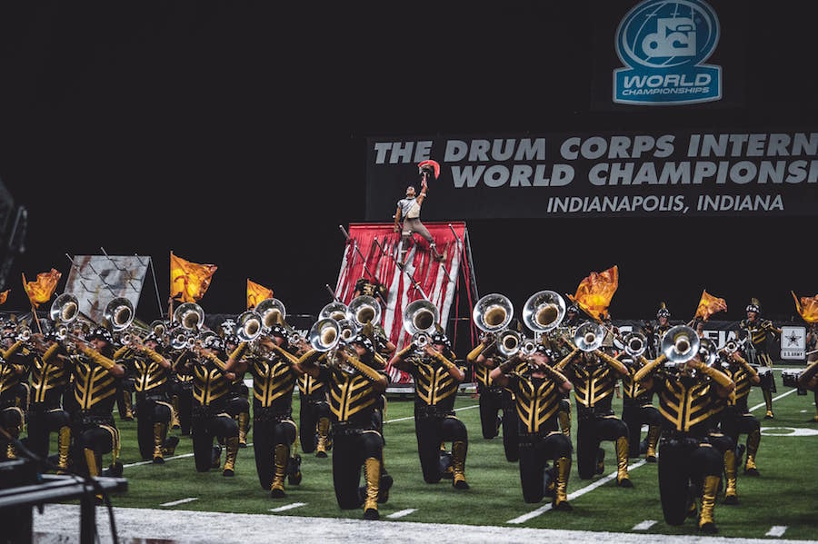The Boston Crusaders Drum & Bugle Corps in 2019