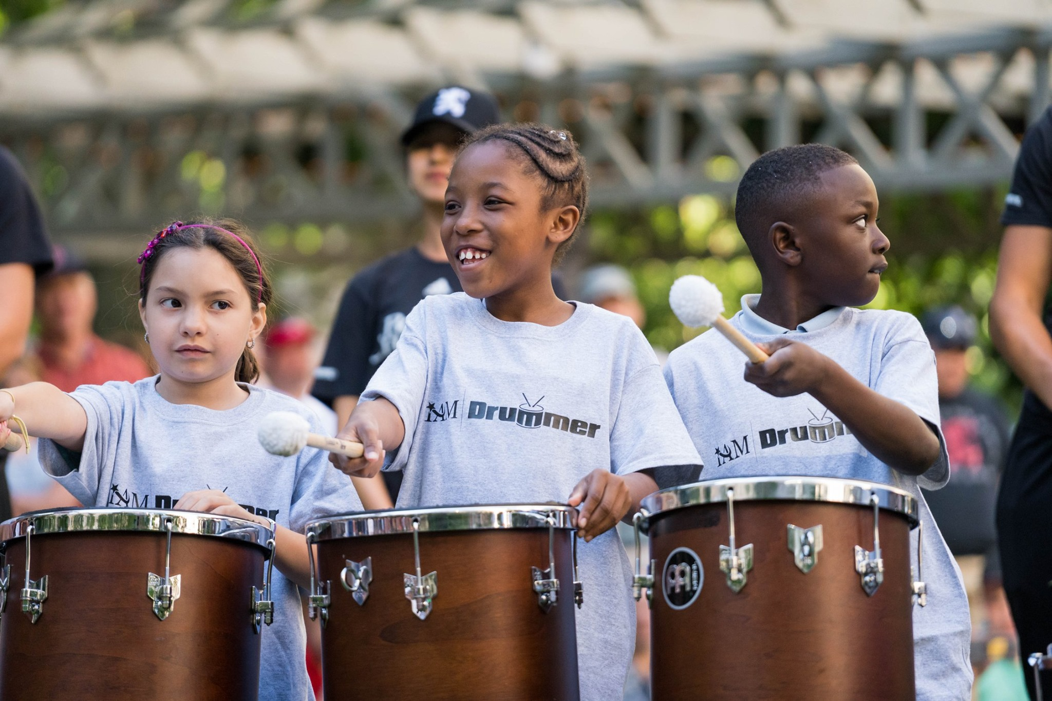 Performers from our Urban Programs at Concert in the Park 2019